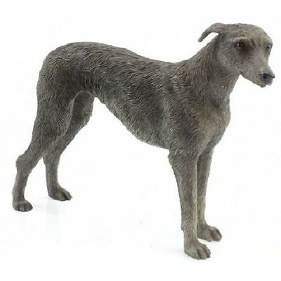 Black Greyhound Ornaments Dog Studies Gift Figurine Statue Collection Decoration