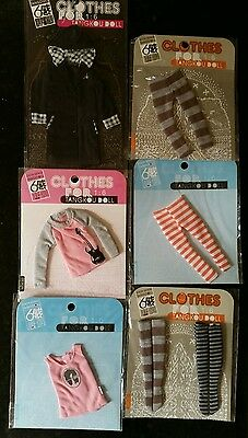 6 Items Collection Of Tangkou Doll Clothing