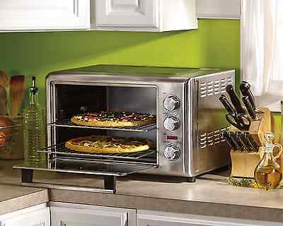 Commercial Stainless Oven Convection Toaster Broil Bake CounterTop  Pizza NO TAX