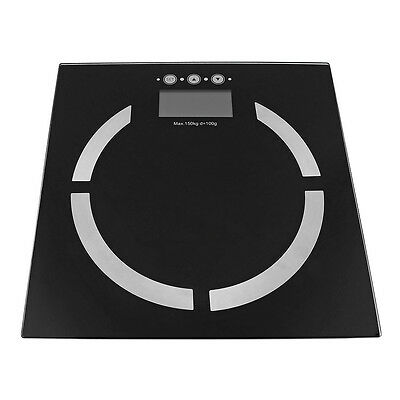 Digital Body Fat Scale Bathroom Gym Weight Scale LCD Electronic Scales
