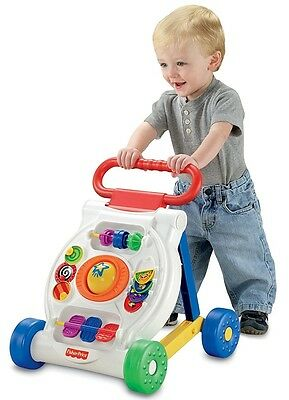 Toy Activity Walker Bright Beginning Kid Baby Infant Toddler Learning Fun Gift
