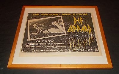 Def Leppard  - Photograph (Vintage New Wave Of British Metal Advertisements)