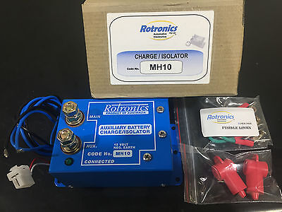 Rotronics MH10 12V 210A Independent Parallel Auxiliary Battery Charger Isolator