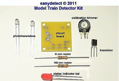 N Scale Hidden Staging Detector Kit For Hidden Or Unseen Train Yards