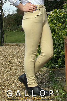 Children's Classic Plain Jodhpurs from Gallop Equestrian. Best selling value!