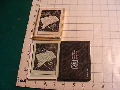 Vintage SLIDE RULE: BOX OF BOOK PLATES, SLIDE RULE DECORATION, SO COOL, unused