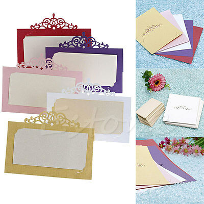 50pcs Name Place Cards Wedding Party Table Mark Cards Decor