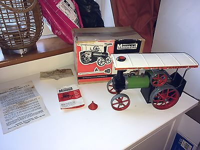 VINTAGE MAMOD MODEL No. TE 1A  STEAM TRACTOR BOXED INSTRUCTIONS 1960'S