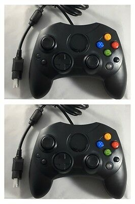 Xbox Controllers X 2 Gamepad Joypad For The Original Microsoft Xbox - Brand New