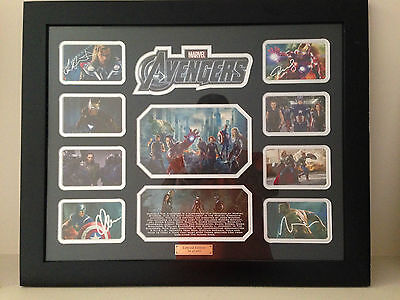 The Avengers - Signed Photo - Movie Memorabilia - Framed - Limited Edition