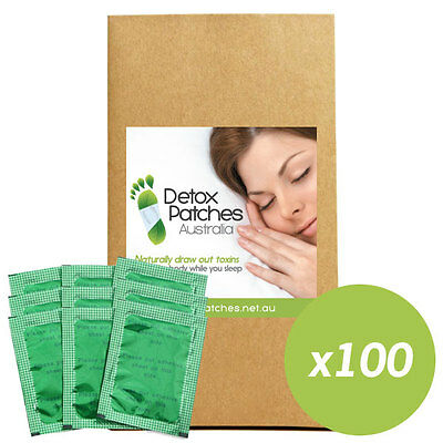 100 x Green Detox Patches