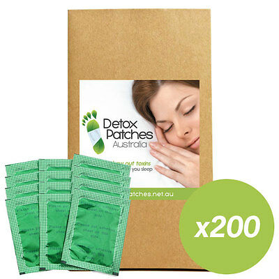 200 x Green Detox Patches