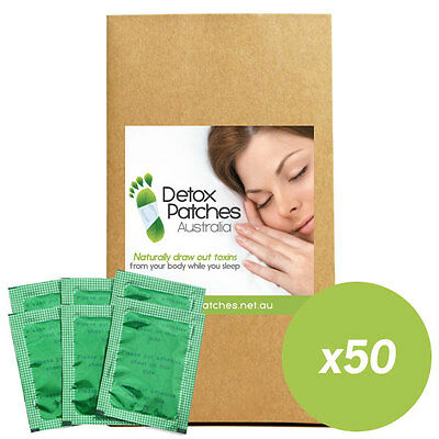 50 x Green Detox Patches