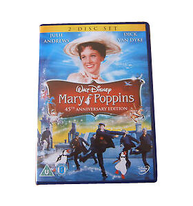 Disney Mary Poppins DVD,45th Anniversary 2-Disc Set. New. Sealed.