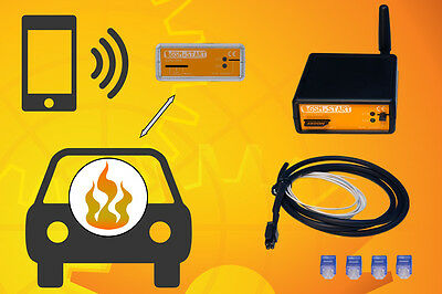 GSM remote control w/ mobile App for Webasto and Eberspacher parking heaters