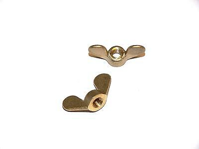 Wing nuts M3, 4, 5, 6, 8 Brass , round shape , DIN 315 , Wing nut