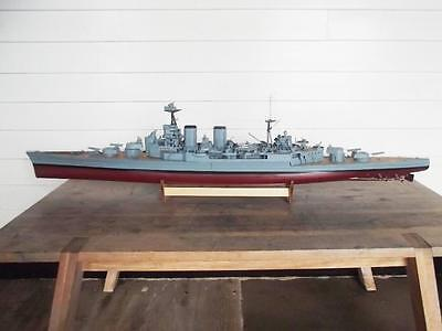 HMS Hood Graupner Electric Powered Model