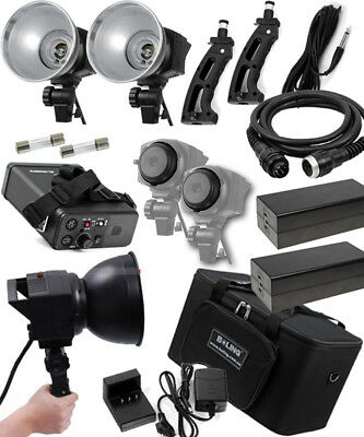 BOLING 800Ws Li-ion Battery Portable Outdoor Flash Studio Light