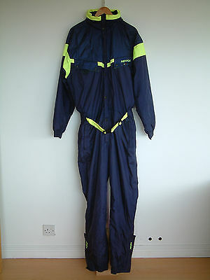 "NEVICA 1980's SKI SUIT..FLURO CONTRAST & HOOD..44""..GREAT CONDITION..VINTAGE SKI"