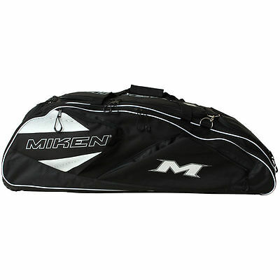 Miken Freak Tournament Wheeled Bat Bag MFRKTO-2 BLACK, new!!