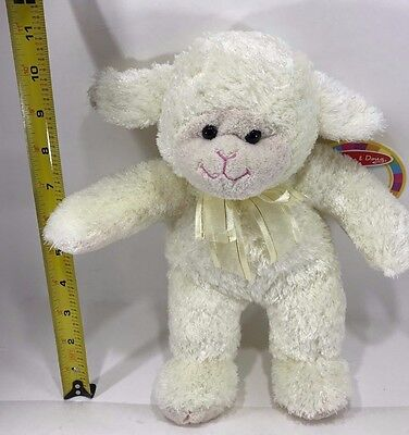 "Jesus Loves Me 11"" Lamb Plush Toy by Melissa & Doug"