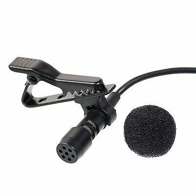 Gold Jack Plug Clip On Microphone Compatible With Iphone Ipod All Smartphones