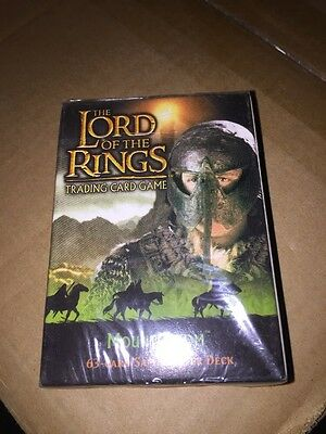 LORD OF THE Rings Mount Doom Sam Starter Deck CCG Factory Sealed Look