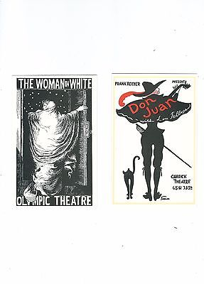 Early Theatre Posters  Set Of 6 Postcards Free Uk Postage