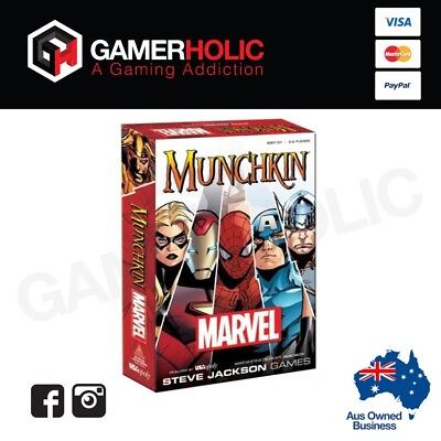 Munchkin Marvel Universe Card Game Brand New