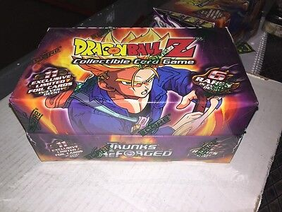 Dragonball Z CCG Trunks Reforged Theme Deck Retail Box.