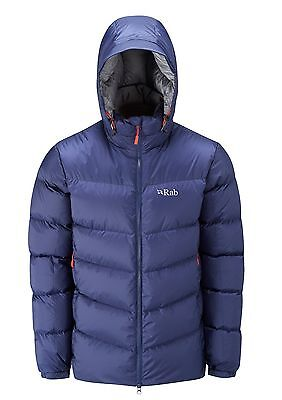 Rab Ascent Down Insulated Jacket, Men's Size Medium, Colour - Twilight