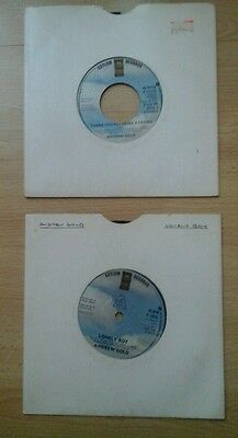 """Andrew Gold Lonely Boy & Thank You For Being A Friend 7"""" Singles . Great Cond"""