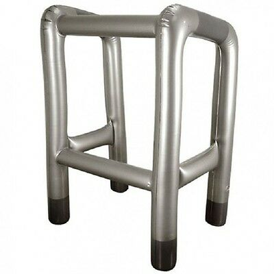Inflatable Walking Zimmer Frame Joke OAP Old Age 60th Birthday Present