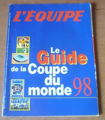 1998 - World Cup (France), L'Equipe Guide.