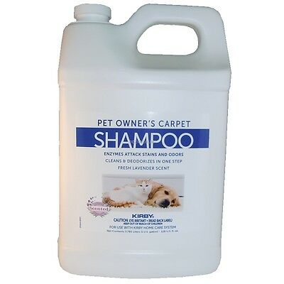 Kirby Carpet Shampoo For Pet Owners - 1 Gallon # 237507