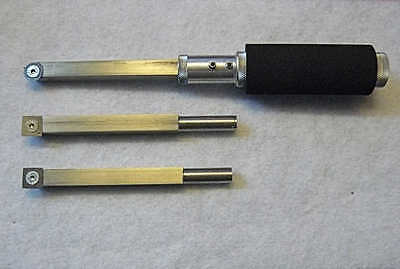 Compact Carbide Tipped Woodturning Tools