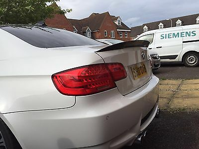 Carbon Bmw E92 3 Series Coupe Boot Spoiler Trunk M3 Csl Performance Uk Seller