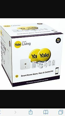 Yale Wireless Smart Home Security Alarm View and Control Kit