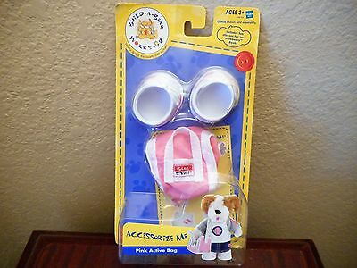Build A Bear Workshop Accessorize Me Pink Active Bag New In Package 2004
