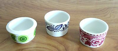 3 MINI  POTS A LAIT ANCIEN PORCELAINE BLANCHE ALLEMANDE (collection)