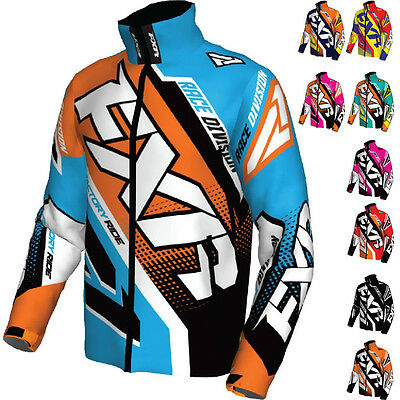 FXR Cold Cross Race Ready Mens Snowmobile Sled Coats Shell Skiing Jackets