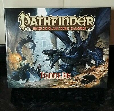 **pathfinder Role Playing Game** Beginner Box By Paizo Fantasy / Rpg - New