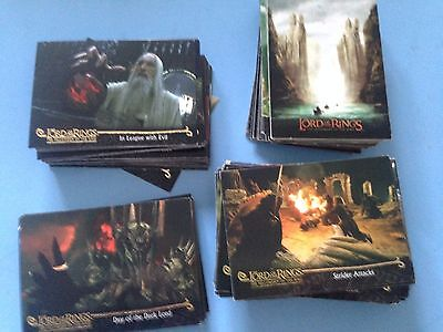 Lord Of The Rings Fellowship Of The Ring Trading Cards