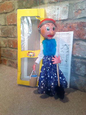 Pelham puppet Old Lady in original box