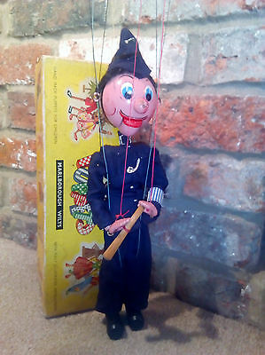 Pelham puppet POLICEMAN in original box