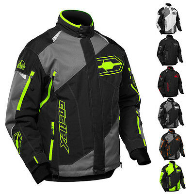 bbf560e8bc2 Castle X Thrust Mens Snowmobile Winter Snow Waterproof Insulated Coat Jacket