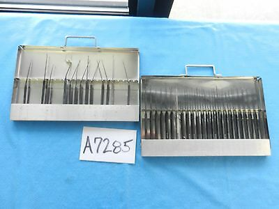 Richards Surgical ENT Anodized Pick Set With Case
