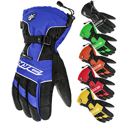 HJC Storm Mens Snowmobile Cold Weather Winter Waterproof Snow Gloves