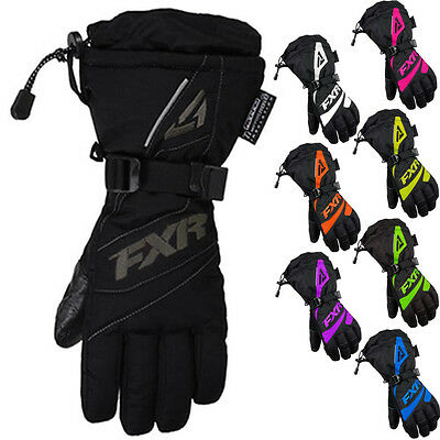 FXR Racing Fusion Womens Snowboard Skiing Snowmobile Gloves