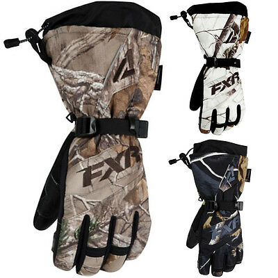 FXR Racing Fusion Realtree Womens Snowboard Skiing Snowmobile Gloves